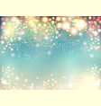 abstract holiday christmas lights on background vector image vector image