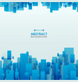 abstract of gradient blue trendy technology vector image vector image