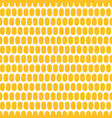 corn grain seamless background vector image