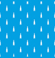 empty wine bottle pattern seamless blue vector image vector image