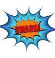explosive colorful bright comic concept vector image vector image