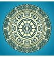 Round Decorative Design Element vector image vector image