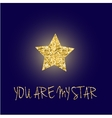 You are my star vector image vector image