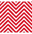 Red Chevron Seamless Pattern vector image