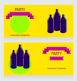 0615 8 three bottles v vector image