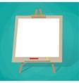Blank presentation board vector image vector image
