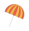 full color with parasol opened vector image vector image