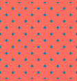 geometric seamless pattern with small crosses vector image vector image