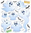 ghost topic image 2 vector image vector image