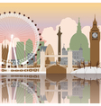 london cityscape vector image vector image