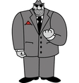 Mobster vector image vector image
