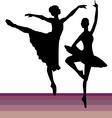 pairs dancing vector image vector image