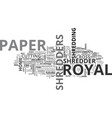 why choose royal paper shredders for the home vector image vector image