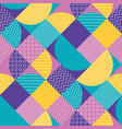 abstract multicolored geometric pattern vector image vector image