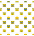 cheese shop pattern seamless vector image vector image