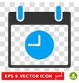 Clock Calendar Day Eps Icon vector image vector image