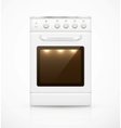 Isolated gas stove vector image vector image