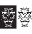 tattoo mask vector image