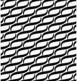 waves lines seamless pattern vector image vector image