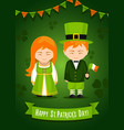 happy saint patrick day vector image