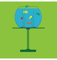 icon with aquarium vector image vector image