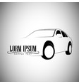logo car vintage style classic vector image vector image