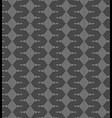 monochrome psychodelic seamless pattern vector image