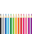 Set of Colored Pencils vector image vector image