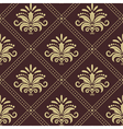 Vintage wallpaper seamless vector image vector image
