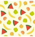 Bright fruit seamless pattern vector image vector image