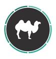 camel computer symbol vector image vector image
