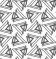 Flat gray with triangles vector image