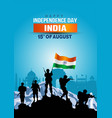 happy independence day india indian army