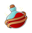 love potion blood or red colored liquid vector image vector image