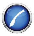 Machete icon vector image vector image