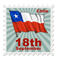 national day of Chile vector image vector image
