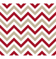 red and gray chevron retro decorative pattern vector image