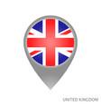 united kingdom point vector image