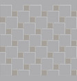 3d tile stone pattern floo vector image