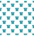 blue polo shirt pattern vector image vector image