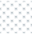 clean rain pattern seamless vector image vector image