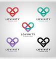 Lovinity - infinity love eternal love logo