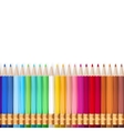 Rainbow Pencils EPS 10 vector image