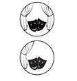 round theatre logo vector image