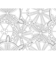 Three of snowflakes white background vector image vector image