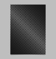 abstractal halftone diagonal square pattern vector image vector image
