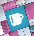 cup coffee or tea icon sign Modern flat style for vector image