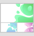 design of web page business banner abstraction vector image vector image
