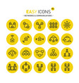easy icons 06c money vector image