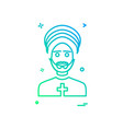 father icon design vector image